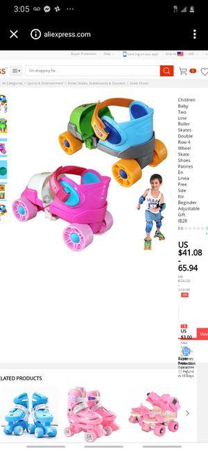 Playwheels Kids Adjustable Roller Skates for Sale in Clearwater, FL