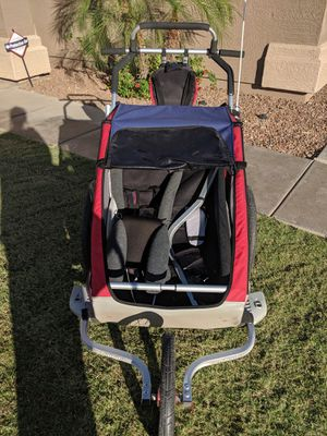 Chariot double bike and run jogger for Sale in Phoenix, AZ
