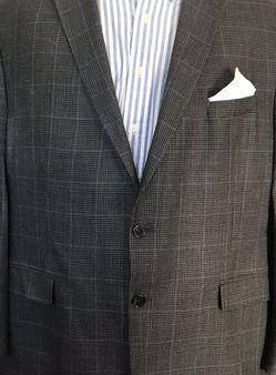 Lauren Ralph Lauren 48R Houndstooth Silk & Wool Blazer Jacket Sports Coat for Sale in Austell,  GA