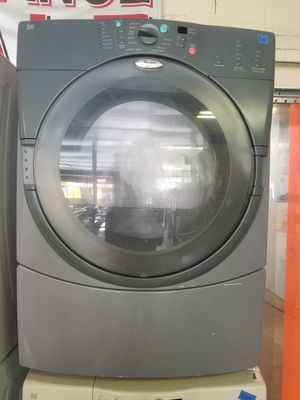 Grey Whirlpool Duet Front Load Dryer for Sale in Tampa, FL