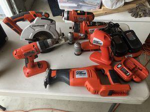 Black & Decker firestorm 18 V power tools for Sale in Upland, CA