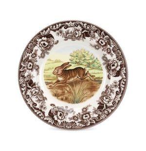 Spode Woodland Rabbit Dinner Plate, 27cm, New, 5 pcs for Sale in Rowlett, TX