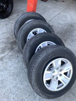 2018 Silverado wheels and tires for Sale in San Diego, CA