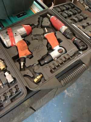 Air compressor with tools for Sale in Port Richey, FL