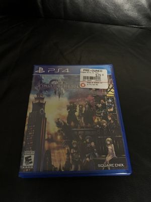 Kingdom hearts 3 for Sale in Queens, NY