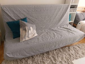 IKEA Futon with removable/washable covers for Sale in Boston, MA