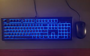 Full-size Backlit Gaming Keyboard and Mouse for Sale in Greenville, SC