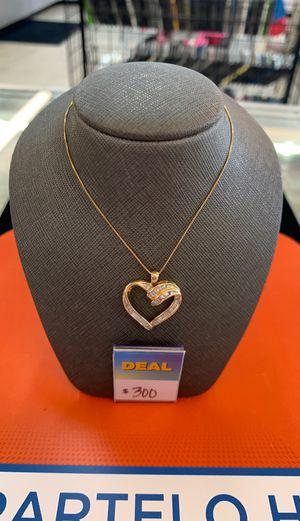 Heart Pendant Chain for Sale in McAllen, TX
