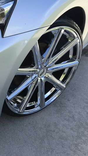 Tire with rims for sale for Sale in Winter Haven, FL