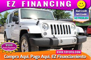 2014 Jeep Wrangler Unlimited for Sale in Cypress, TX