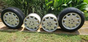 Mercedes-Benz wheels and tires 205/55R16 for Sale in Kennedale, TX