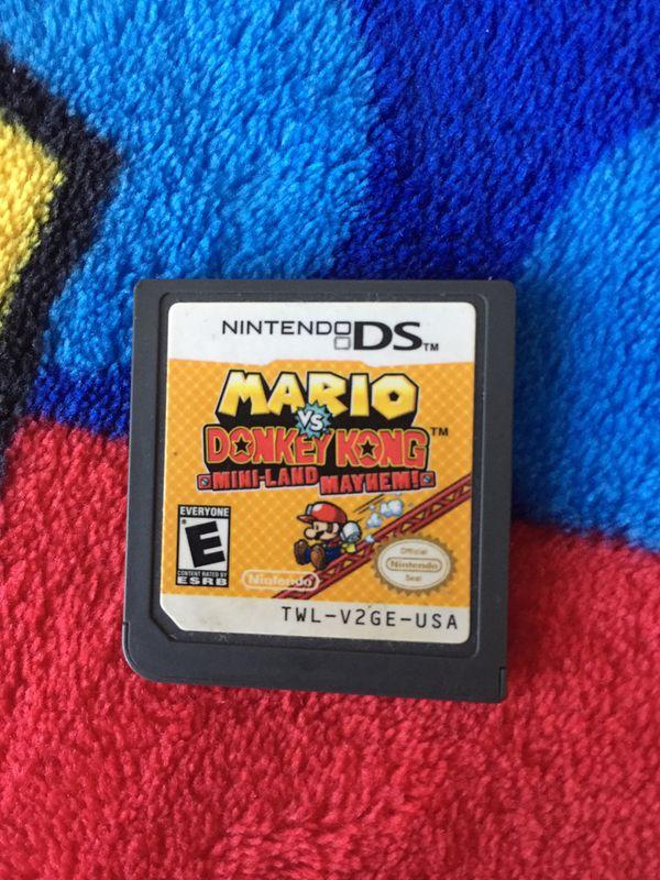 Cartucho Mario vs Donkey Kong para Nintendo DS