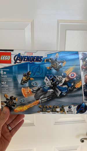 LEGO Avengers Captain America set 76123 for Sale in Livermore, CA