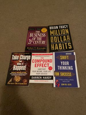 5 Brand new success novels for Sale in San Antonio, TX