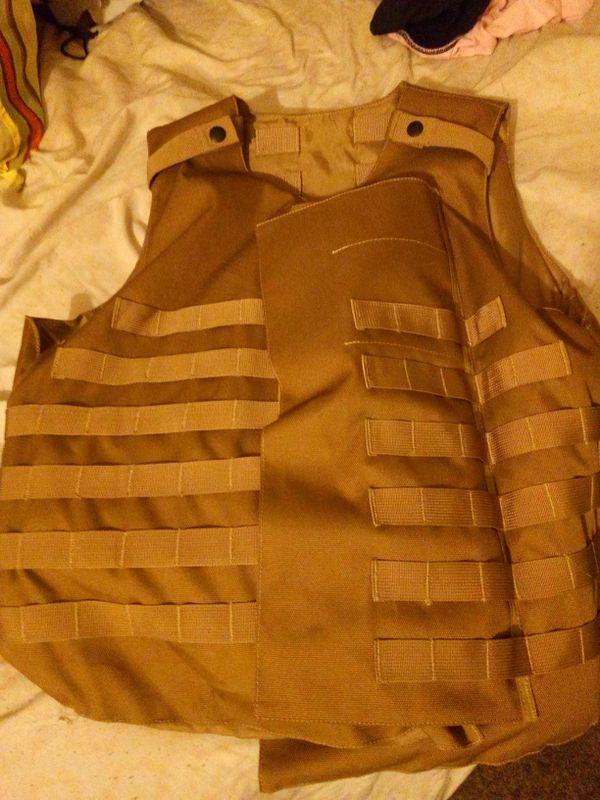 Level 4 bulletproof vest