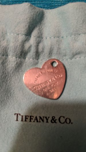 Tiffany & Co Please Return to Tiffany Heart Charm for Sale in McKeesport, PA