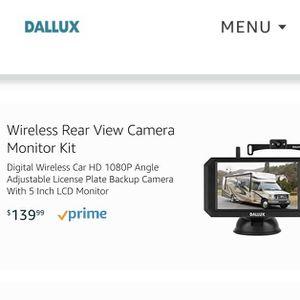 Dallux Wireless Rear View Camera for Sale in Hesperia, CA