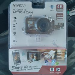 Vivitar 4k Ultra HD Action Cam for Sale in Tarentum,  PA