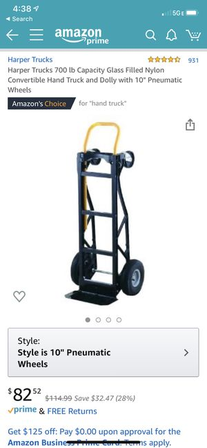 Duel-Mode Hand Truck for Sale in Washington, DC