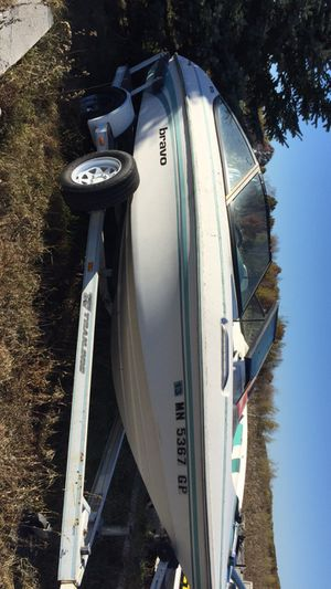 1994 bravo boat for Sale in East Gull Lake, MN