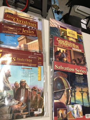 Abeka - life of Christ (1-5) and extra for Sale in El Cajon, CA