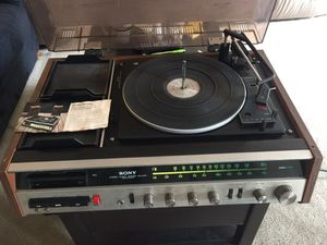 Sony Stereo Music System HP-219A Works All for Sale in Oakland, CA