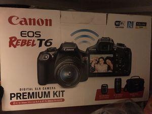 Canon EOS rebel t6 for Sale in Alexandria, VA