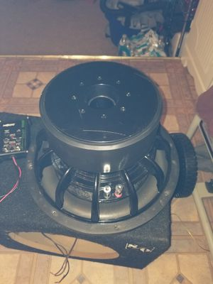 Subwoofer 12 in 1500 watts(trade obo) for Sale in Bryans Road, MD