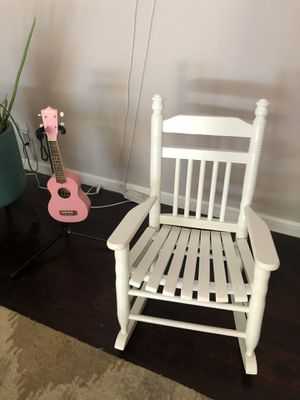 Kids Rocking-Chair in White for Sale in Tempe, AZ