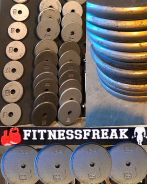 220 lb STANDARD WEIGHT SET- NON Olympic for Sale in El Cajon, CA