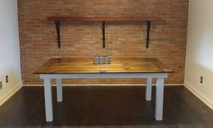 Handcrafted Farm Table w/chairs for Sale in Roanoke, VA