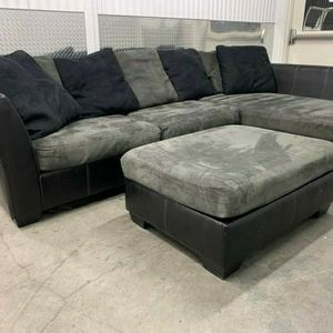 grey sectional for Sale in Portland, OR