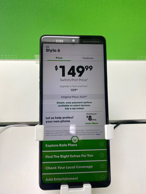 Stylo 6 ! Read Description for Sale in Erie, PA