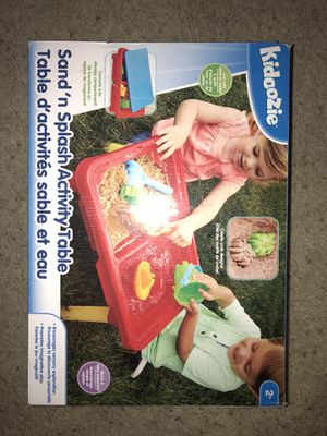 Sand and water table with toys for Sale in Chandler, AZ