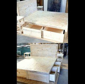 Custom Made Bed Frame for Sale in Rio Linda, CA