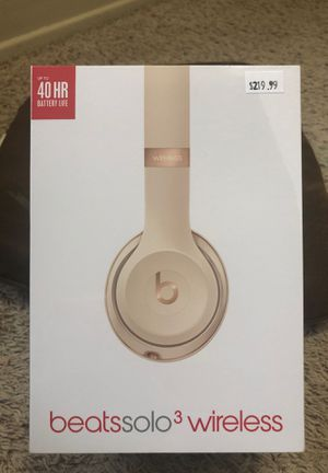 Beats solo 3 wireless headset for Sale in Bellevue, WA