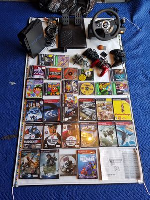 PS2 with everything for Sale in Charlotte, NC