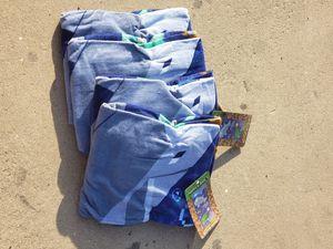 4 Minecraft ocean beach pool towels for Sale in Ontario, CA