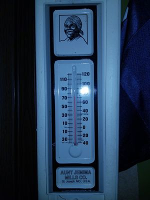 Vintage aunt jemima kitchen thermometer for Sale in Port Orchard, WA