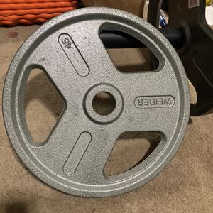 45lb Olympic Weight x2 for Sale in Monterey, CA