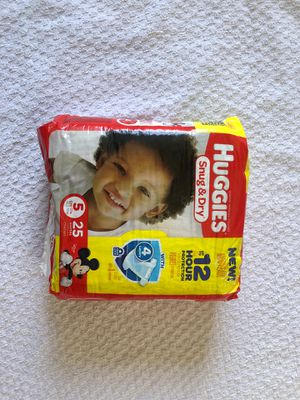 Huggies Snug & Dry diapers for Sale in Jericho, NY