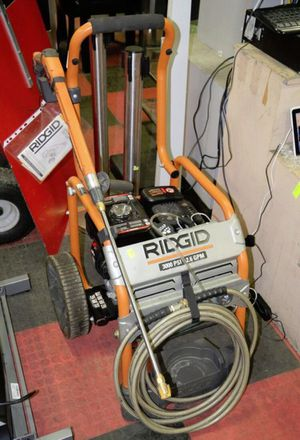 RIDGID 3000 PSI SUBARU PRESSURE WASHER WITH SOAP DISPENSER INSTALLED for Sale in Riverview, FL