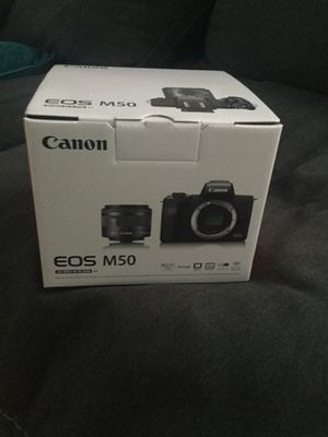 Canon EOS M50 Brand New in the Box Unopened/Unused for Sale in Hillsboro, OR