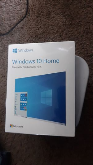 Microsoft Windows 10 home program. for Sale in Puyallup, WA