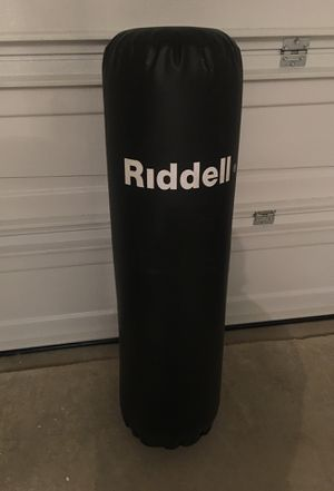 Riddell punching bag for Sale in Austin, TX