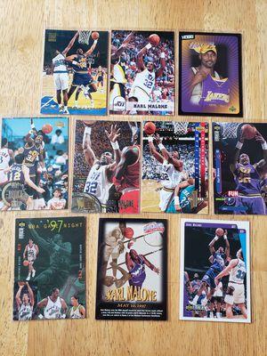 Karl Malone Utah Jazz NBA basketball cards for Sale in Gresham, OR