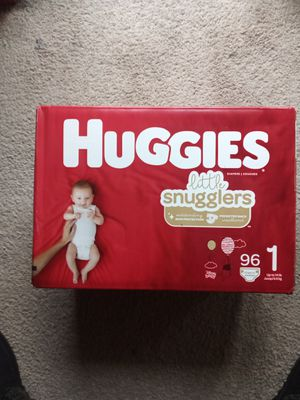 Huggies: Little Snugglers Size 1 for Sale in Renton, WA