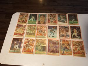 1980 holographic baseball cards 18 of them for Sale in Portland, OR