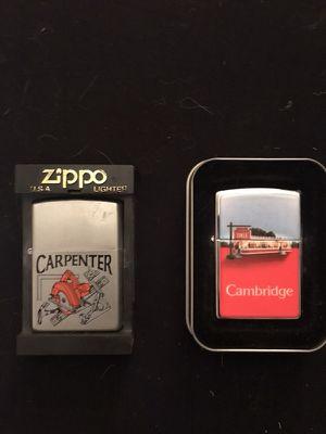 Rare Vintage Zippo Lighters- NIB for Sale in Greenville, SC