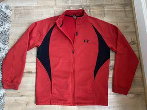 Men's XL Red/Black Under Armour Jacket for Sale in Vienna, VA
